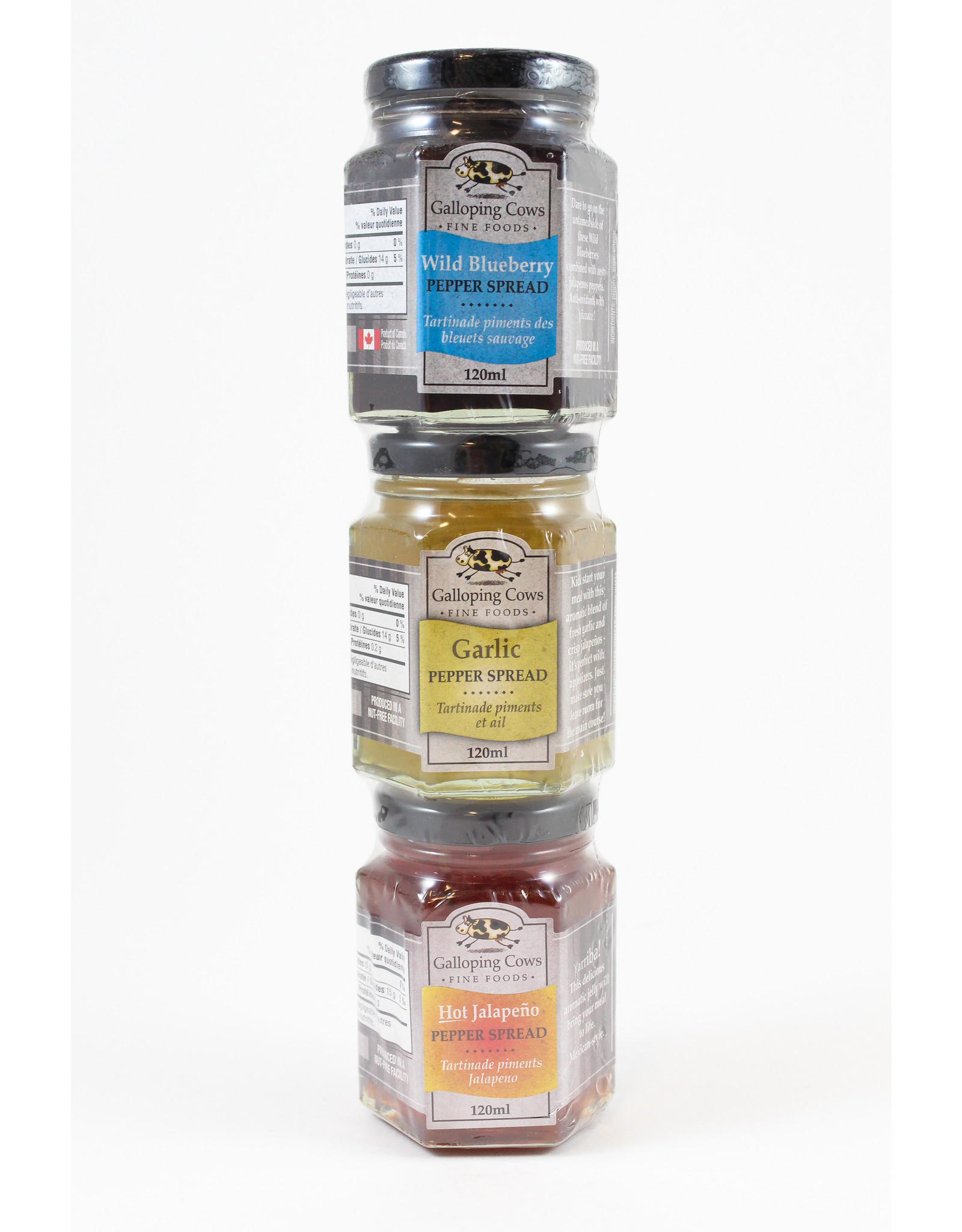 Galloping Cows Pepper Spread 3-Pack by Galloping Cows
