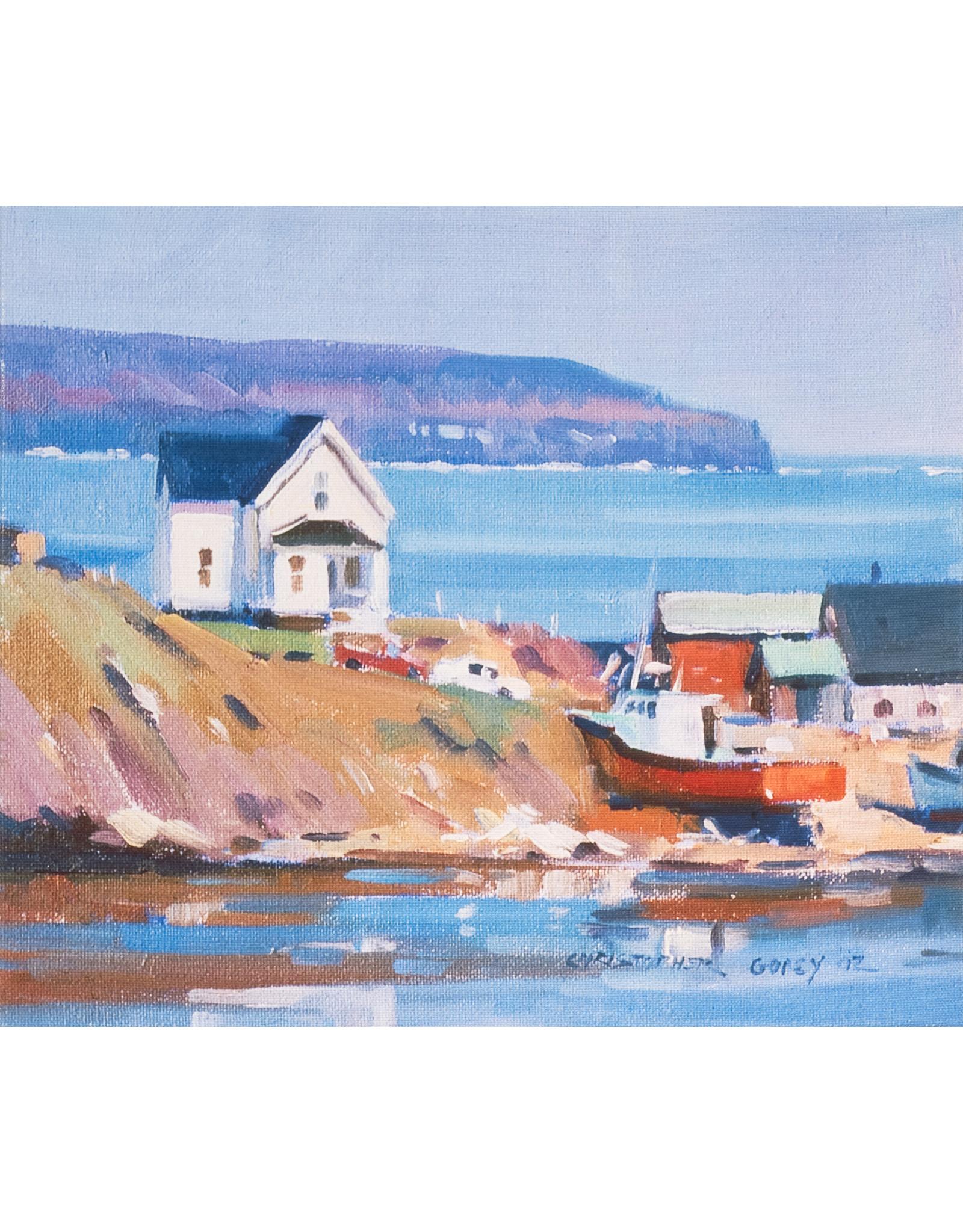 Christopher Gorey Cape Breton Harbour (Reproduction) by Christopher Gorey