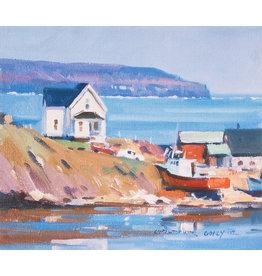 Christopher Gorey Cape Breton Harbour by Christopher Gorey (Reproduction)