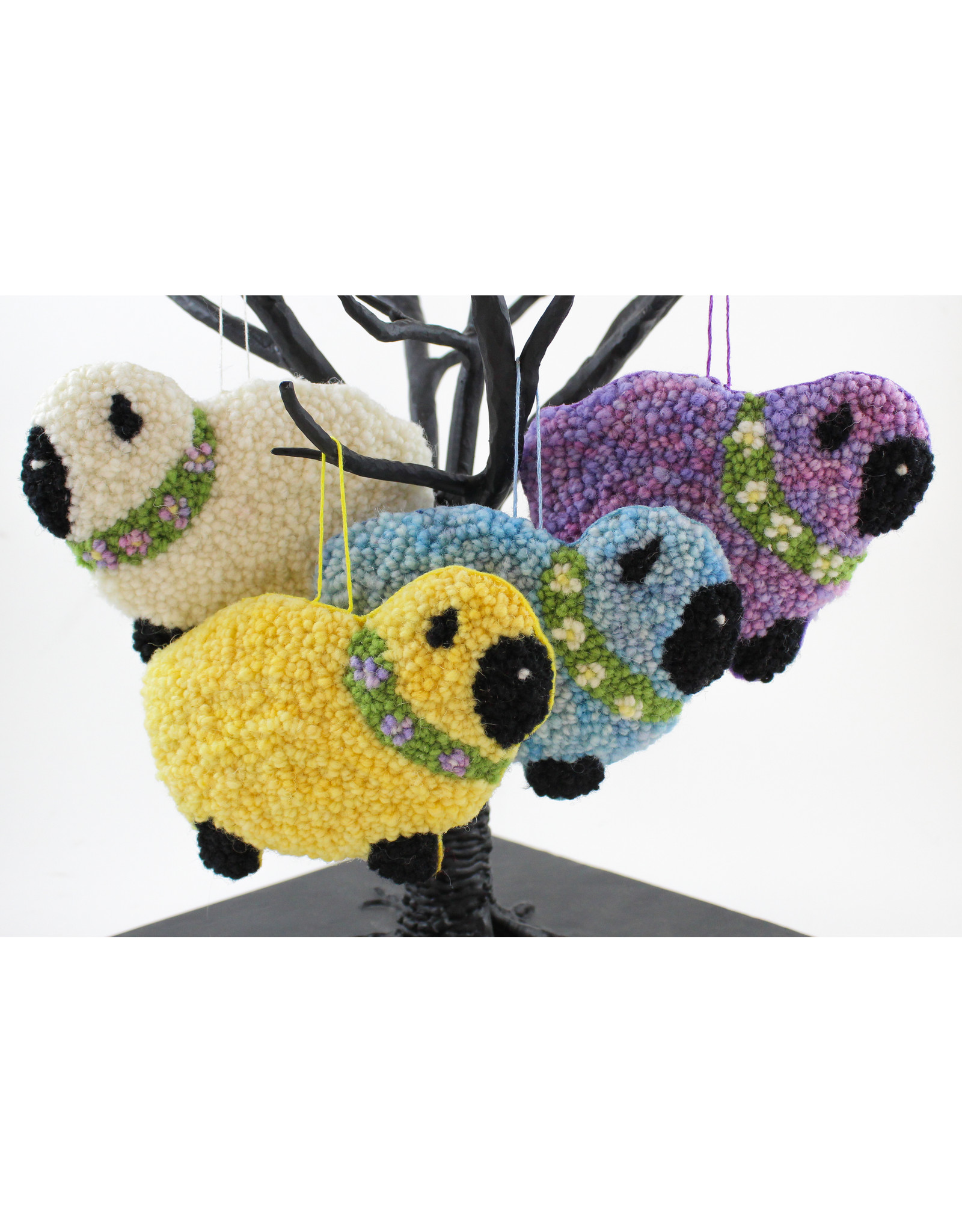 Betty Paruch Sheep Ornaments by Betty Paruch