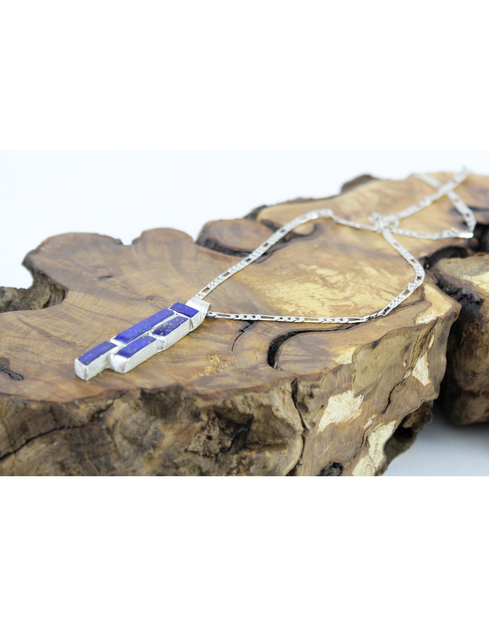 Teddy Tedford Lapis Lazuli Pendant Necklace by Teddy Tedford