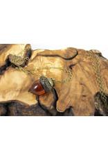 Irene MacKinnon Acorn Necklace by Irene MacKinnon