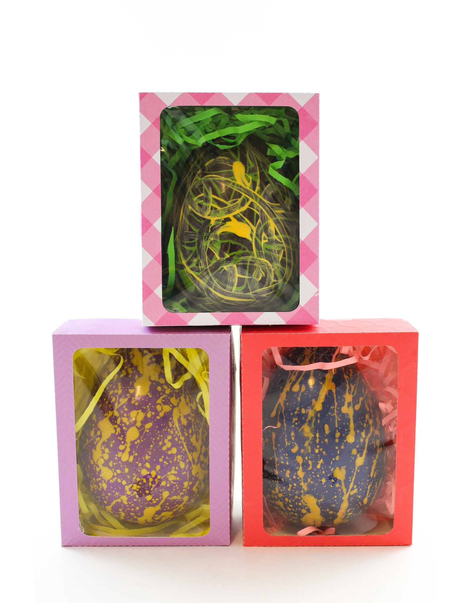 Penny Steele Hand-Painted Surprise Eggs by Cabotto Chocolates