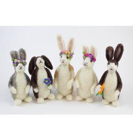Shari MacLeod Spring Rabbits by Shari MacLeod