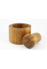 phil jones Maple Mortar and Pestle by The Bowl Guy