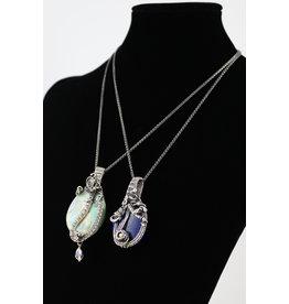 Tasha Matthews Wire Weave Pendants by Tasha Grace Designs