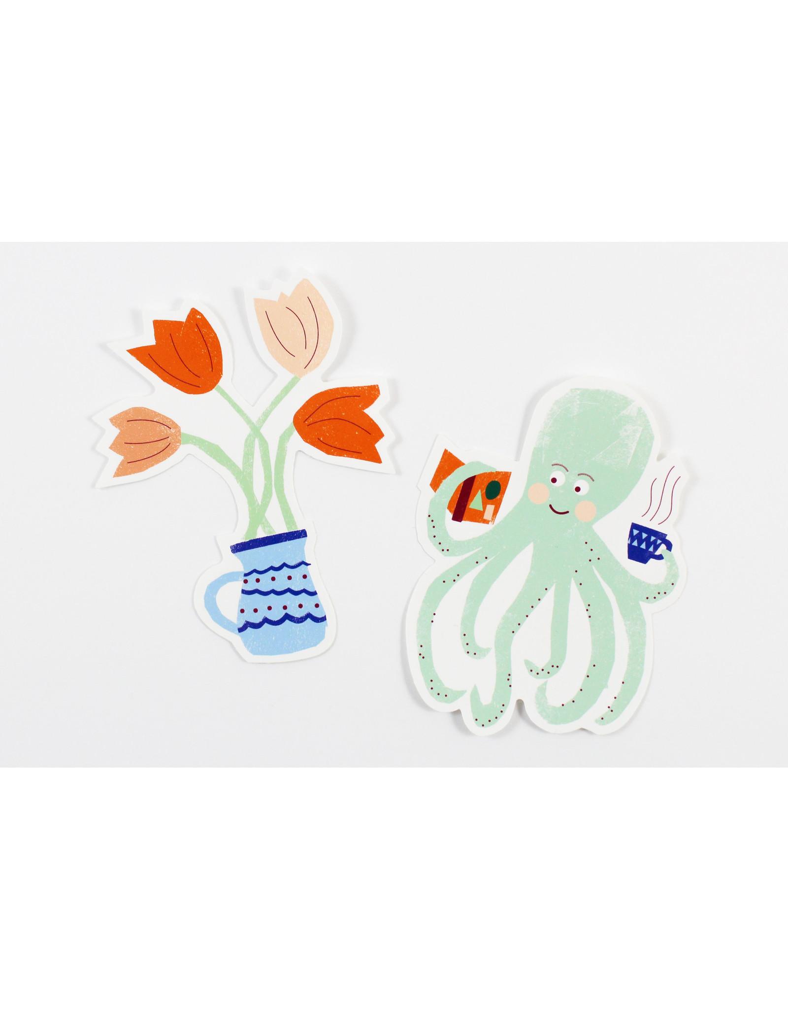 Patrizia Monnerjahn Illustrated Stickers by Kautzi