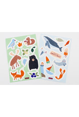 Patrizia Monnerjahn Illustrated Sticker Packs by Kautzi