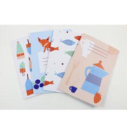 Patrizia Monnerjahn Illustrated Notebooks by Kautzi