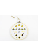 Christina MacLean Cross Stitched Ornaments by Caper Chris Creations