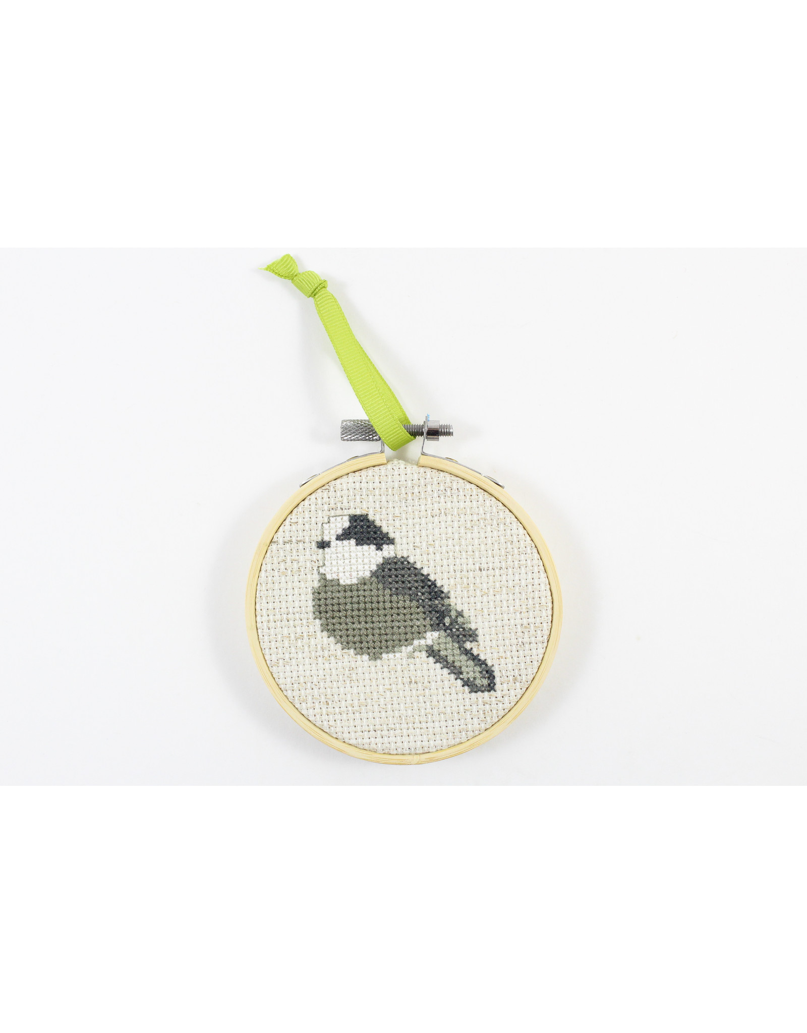 Christina MacLean Cross Stitched Birds by Caper Chris Creations
