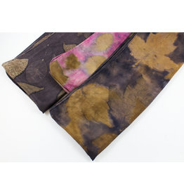Mel Sweetnam Naturally Printed Silk Scarves by Mel Sweetnam
