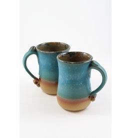 Jitka Zgola Stoneware Mugs by Jitka Zgola