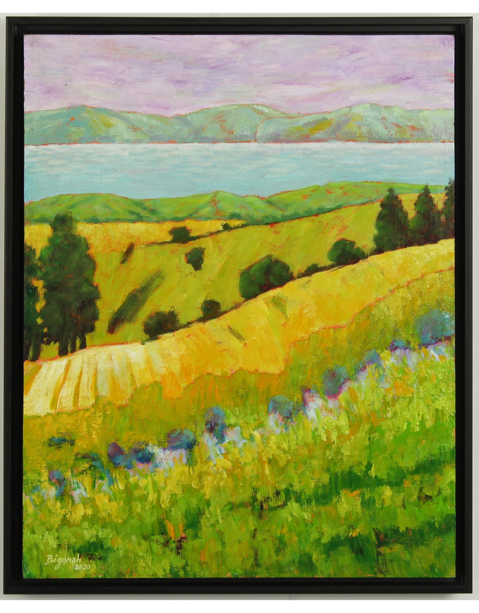 Reza Bigonah Beside the Lake by Reza Bigonah