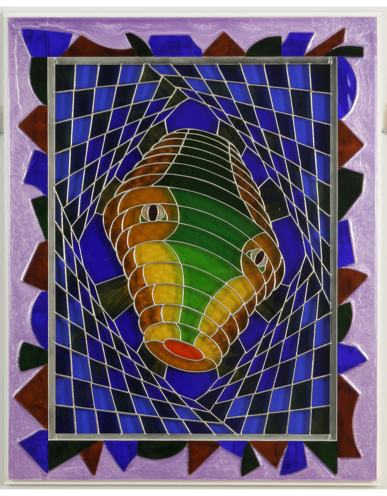 Bernard Siller Whorled Worm Web by bernard siller