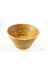 phil jones Large Spalted Maple Salad Bowls by The Bowl Guy