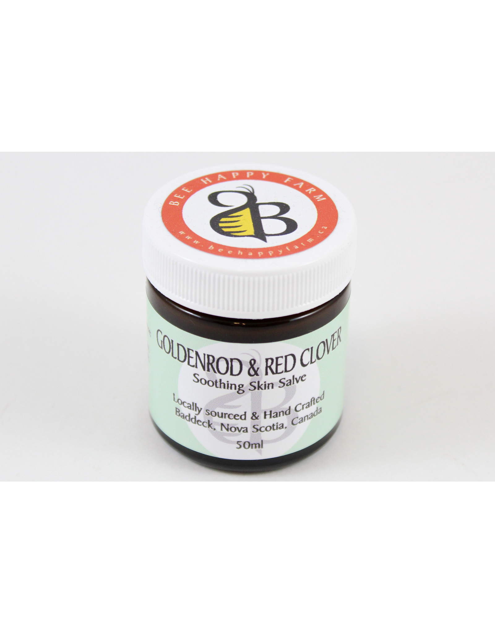 Iris Kedmi Goldenrod & Red Clover Psoriasis+Eczema Salve by Bee Happy Farm