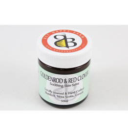 Iris Kedmi Goldenrod & Clover Skin Salve by Bee Happy Farm