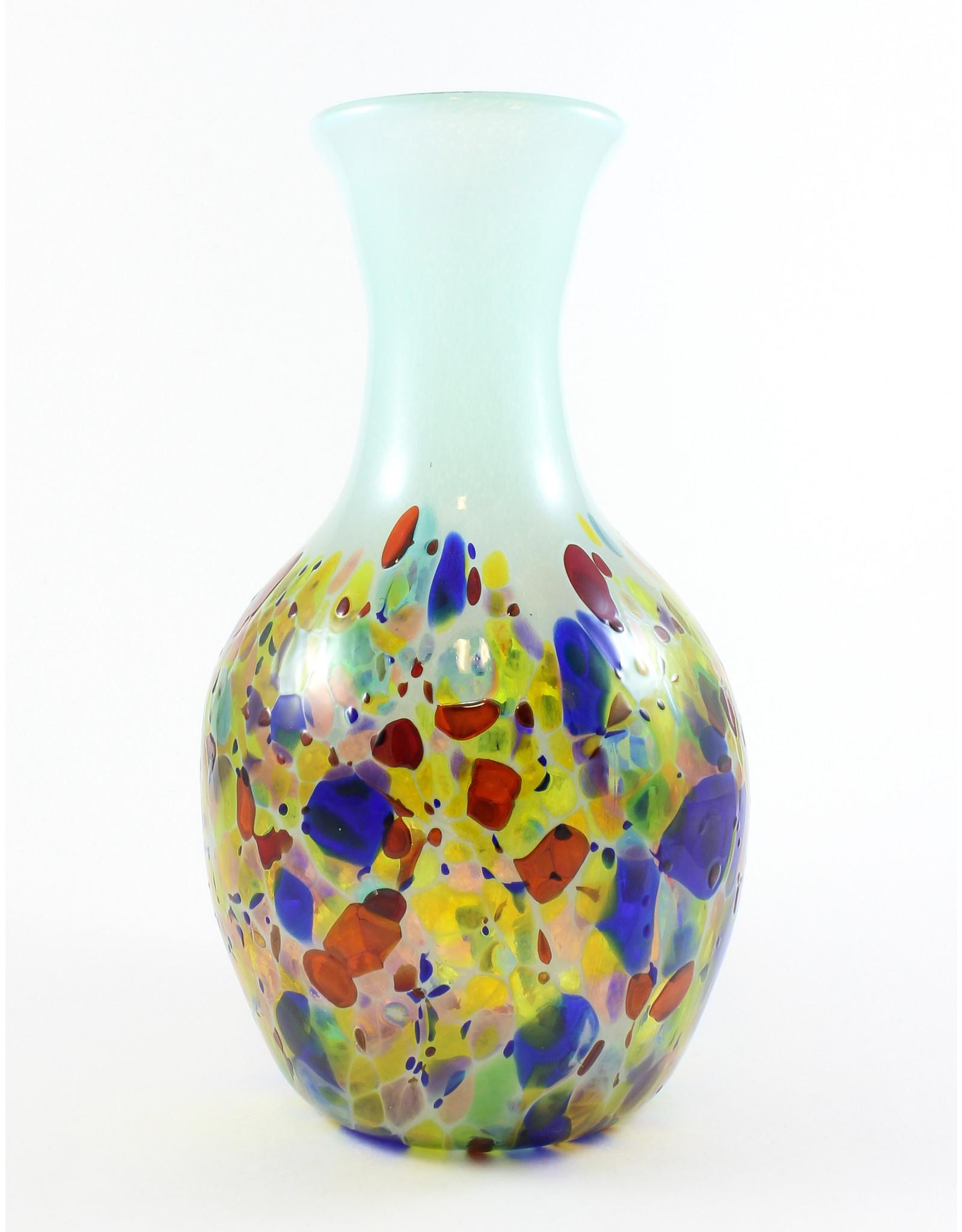 Glass Artisans Multicoloured Blown Glass Vase by Glass Artisans