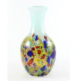 Glass Artisans Blown Glass Vase by Glass Artisans