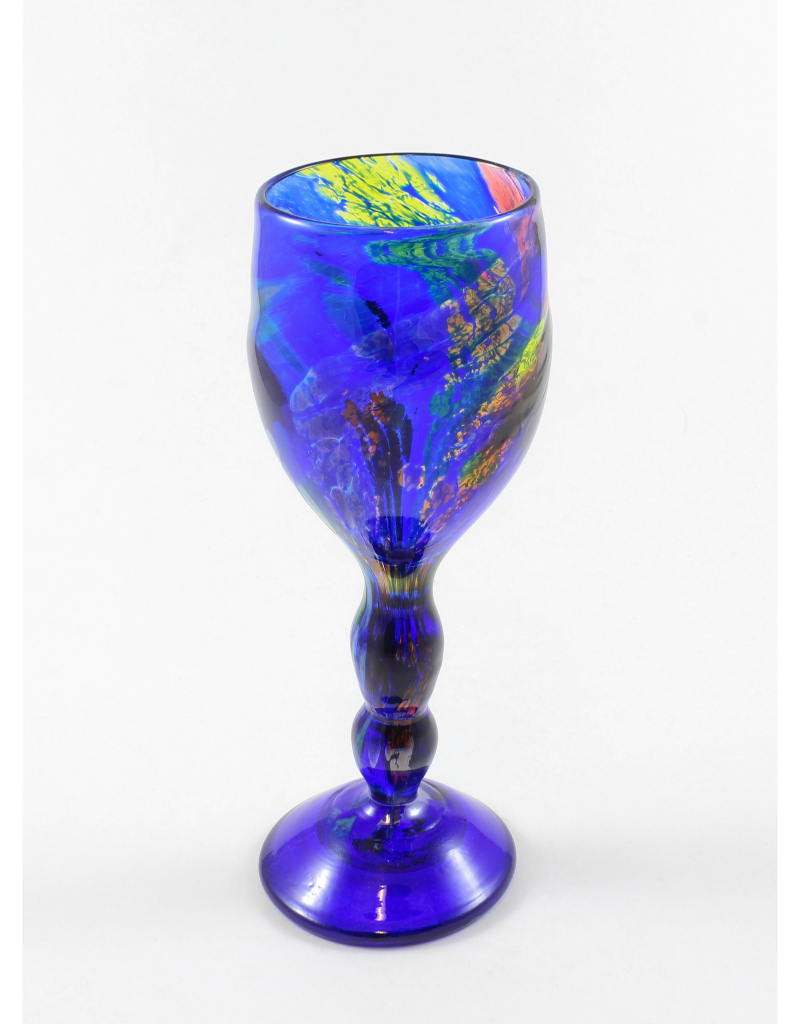 Wendy Smith Wine Goblet by Glass Artisans