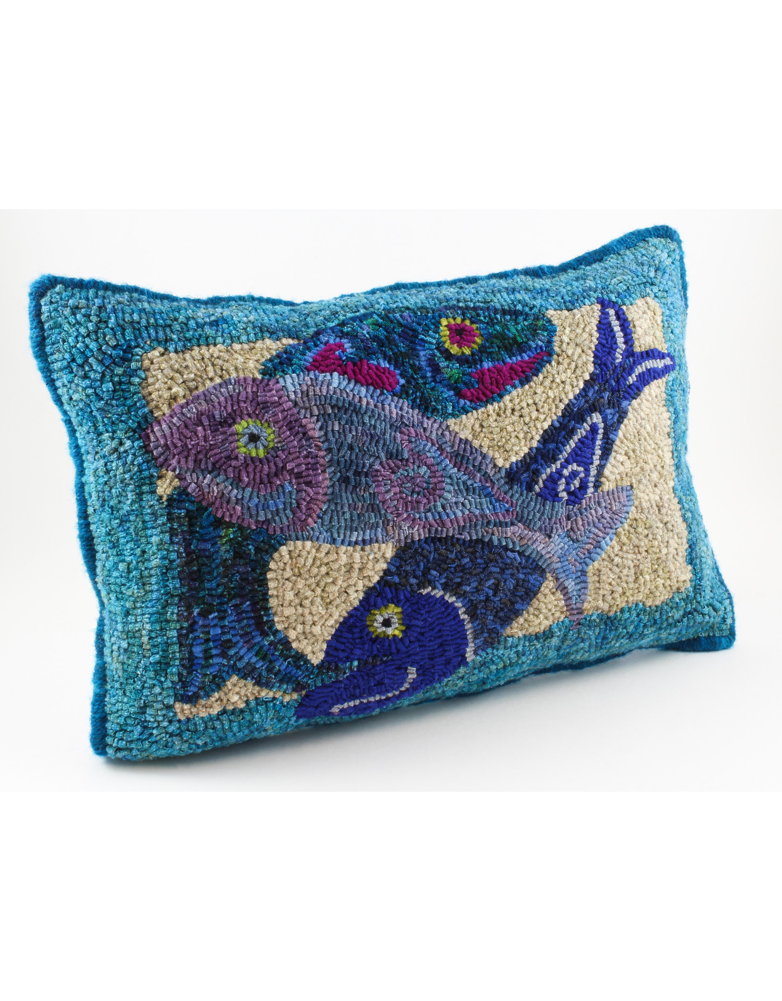 Betty Paruch Friends Pillow by Betty Paruch