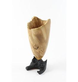 Hugh Ross Tall Maple Vase by Hugh Ross