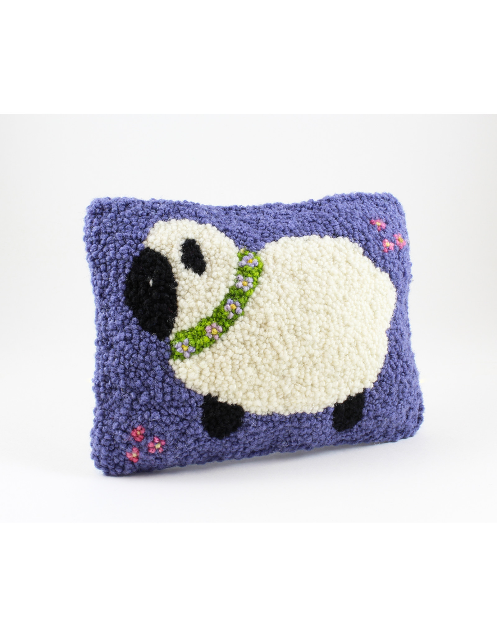 Betty Paruch Sheep Pillow by Betty Paruch