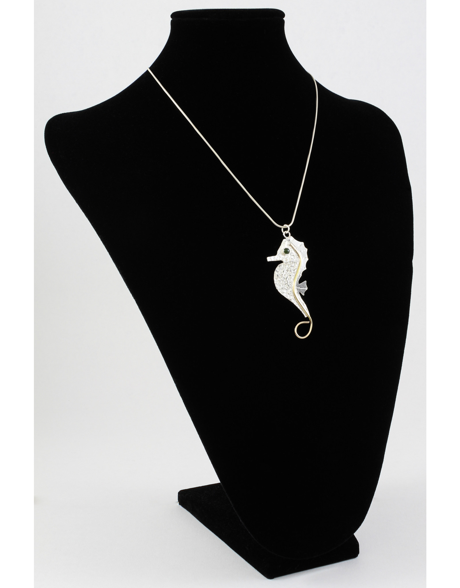 Jim & Judy MacLean Seahorse Pendant by Findings For Friends