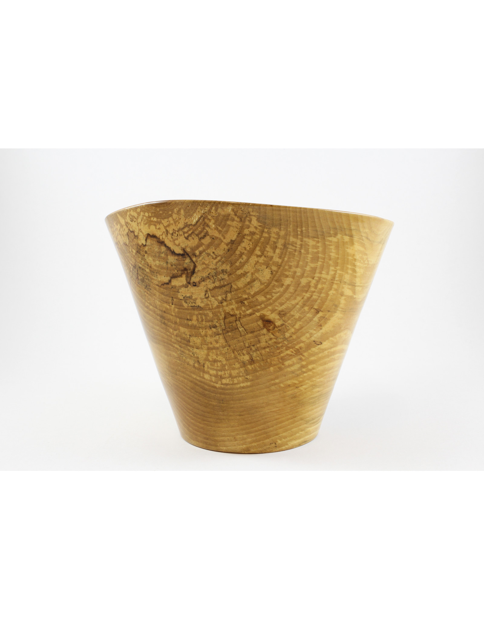 phil jones Tall Spalted Birch Bowl by The Bowl Guy
