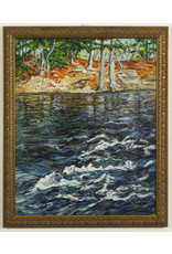Anita Ouellette River End of Côte St Paul Road (Water) by Anita Ouellette