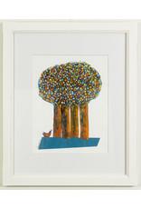 Reza Bigonah Trees and Birds #3 by Reza Bigonah