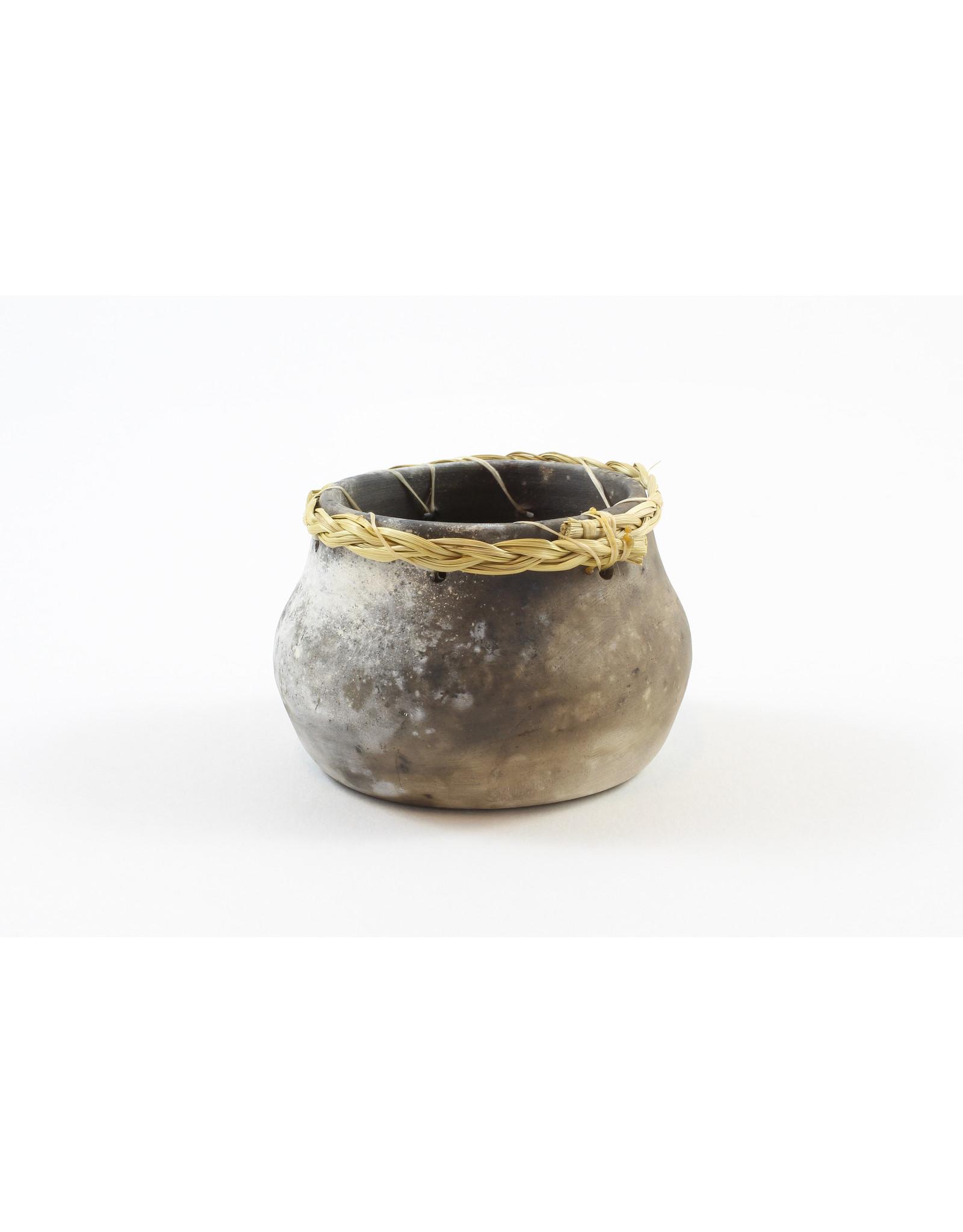 Nancy Oakley Small Round Pot by Nancy Oakley