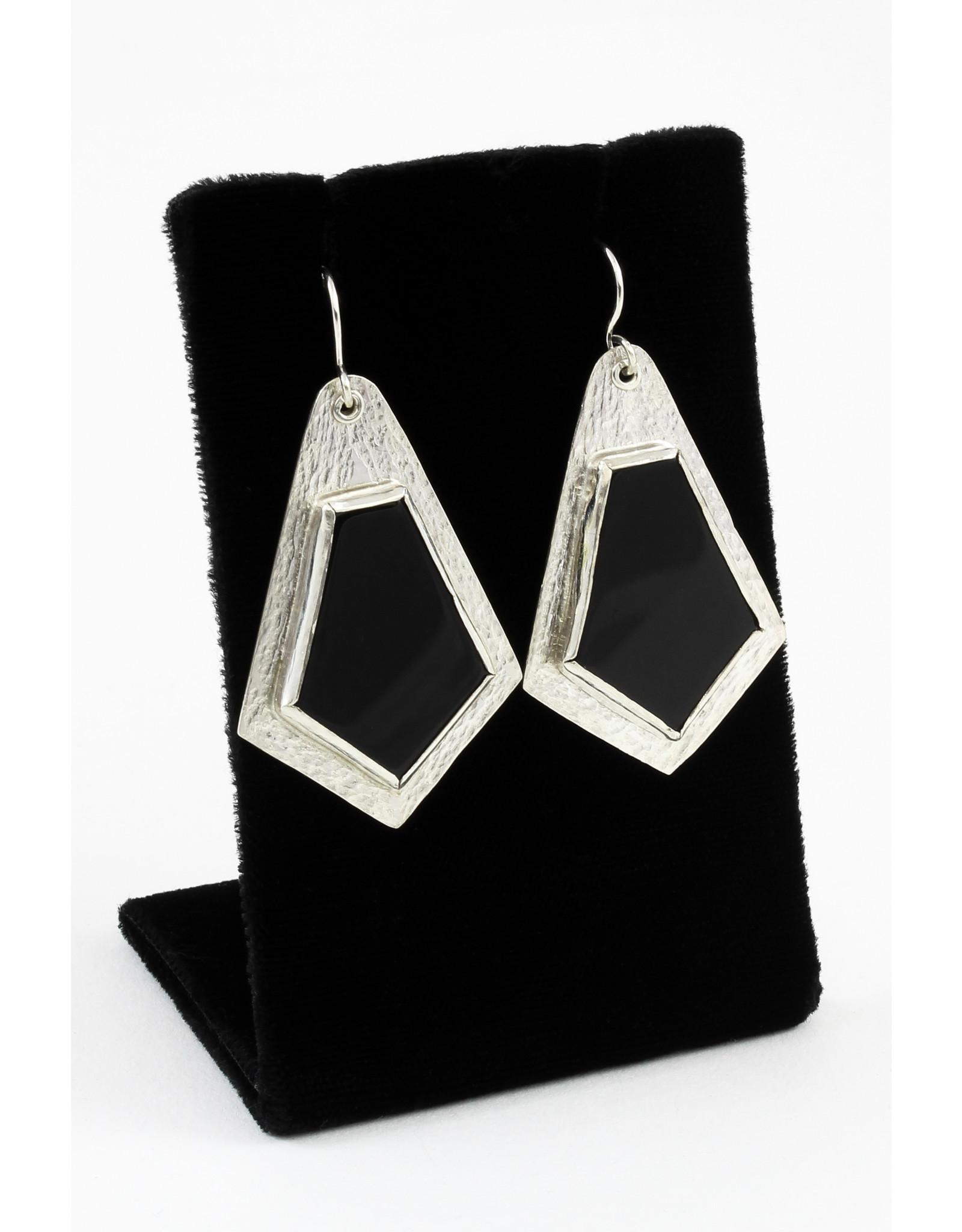 Karen Graham Onyx Earrings by Karen Graham