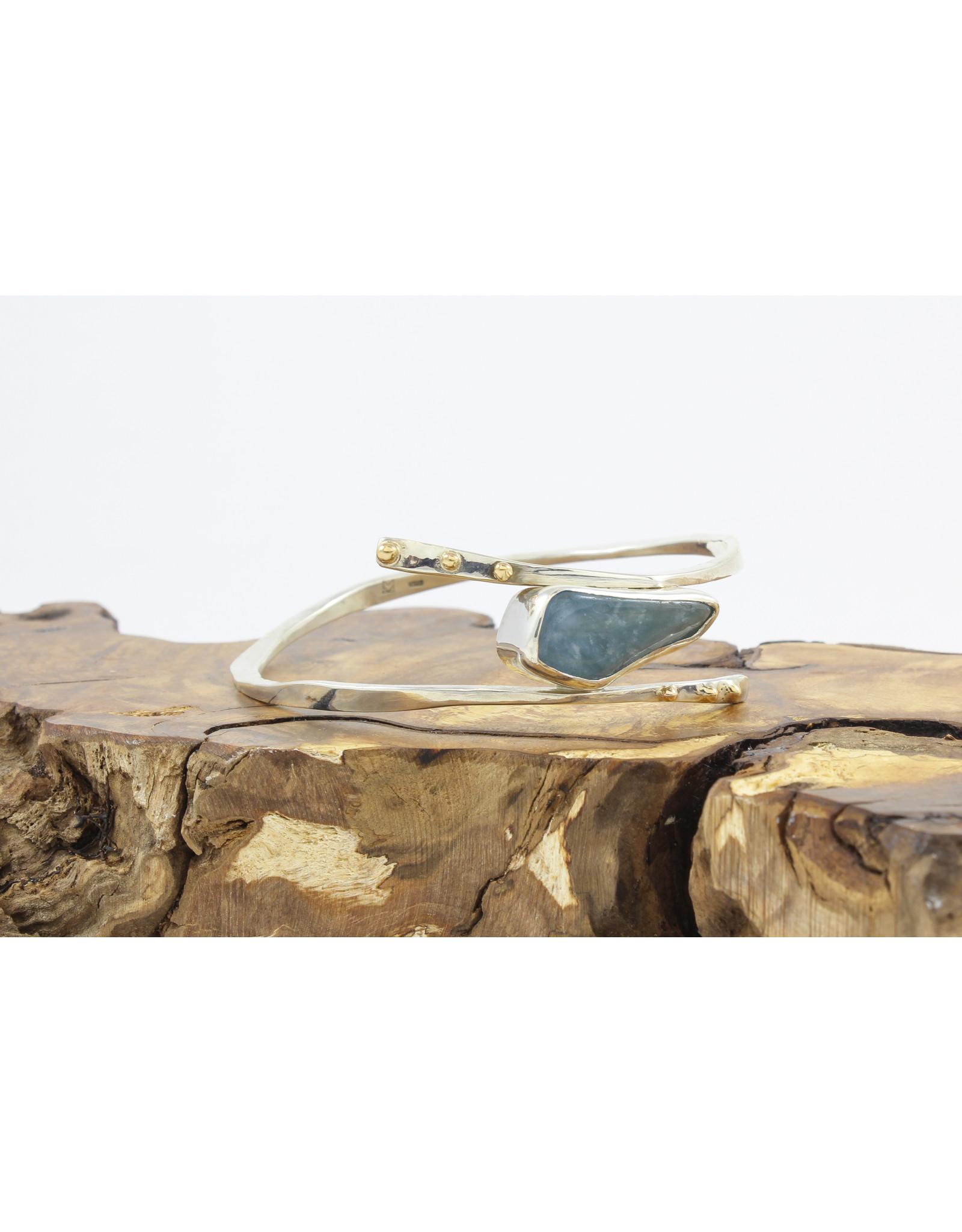 Karen Wawer Aquamarine Bracelet by Karen Wawer