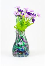 Wendy Smith Blown Glass Vase by Glass Artisans