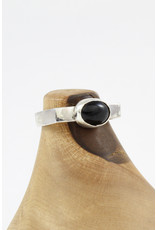 Karen Graham Black Onyx Stirrup Ring by Karen Graham