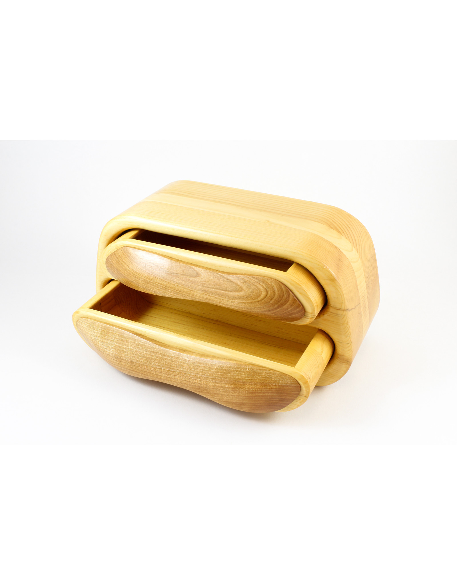 Robert Evans Long Two Drawer Box by Woodsmiths