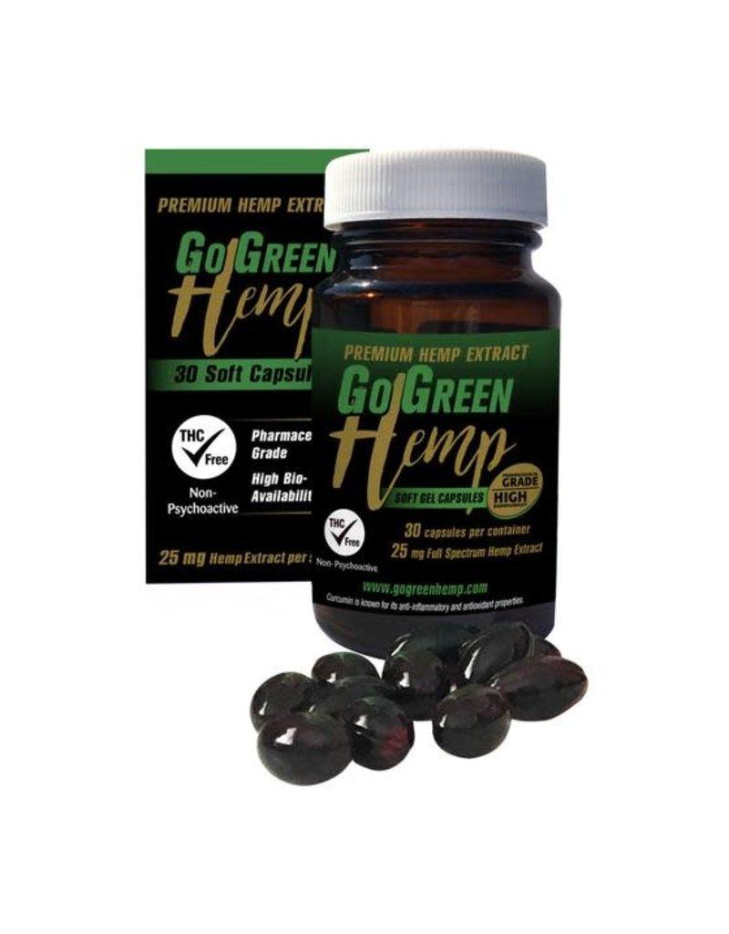 GoGreen CBD Gel Capsules