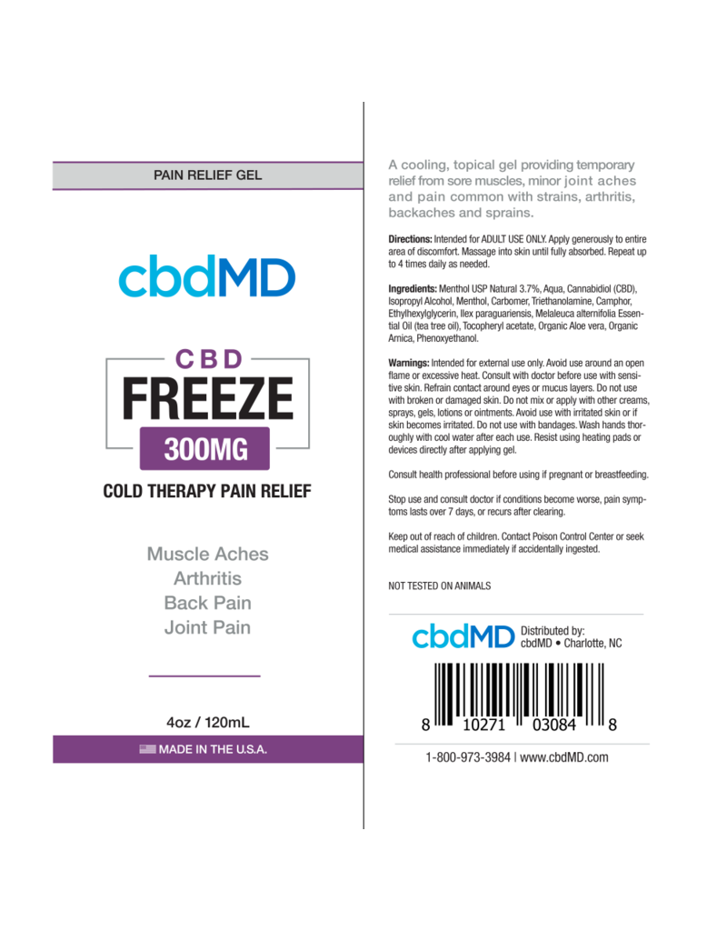 cbdMD Topical Gel