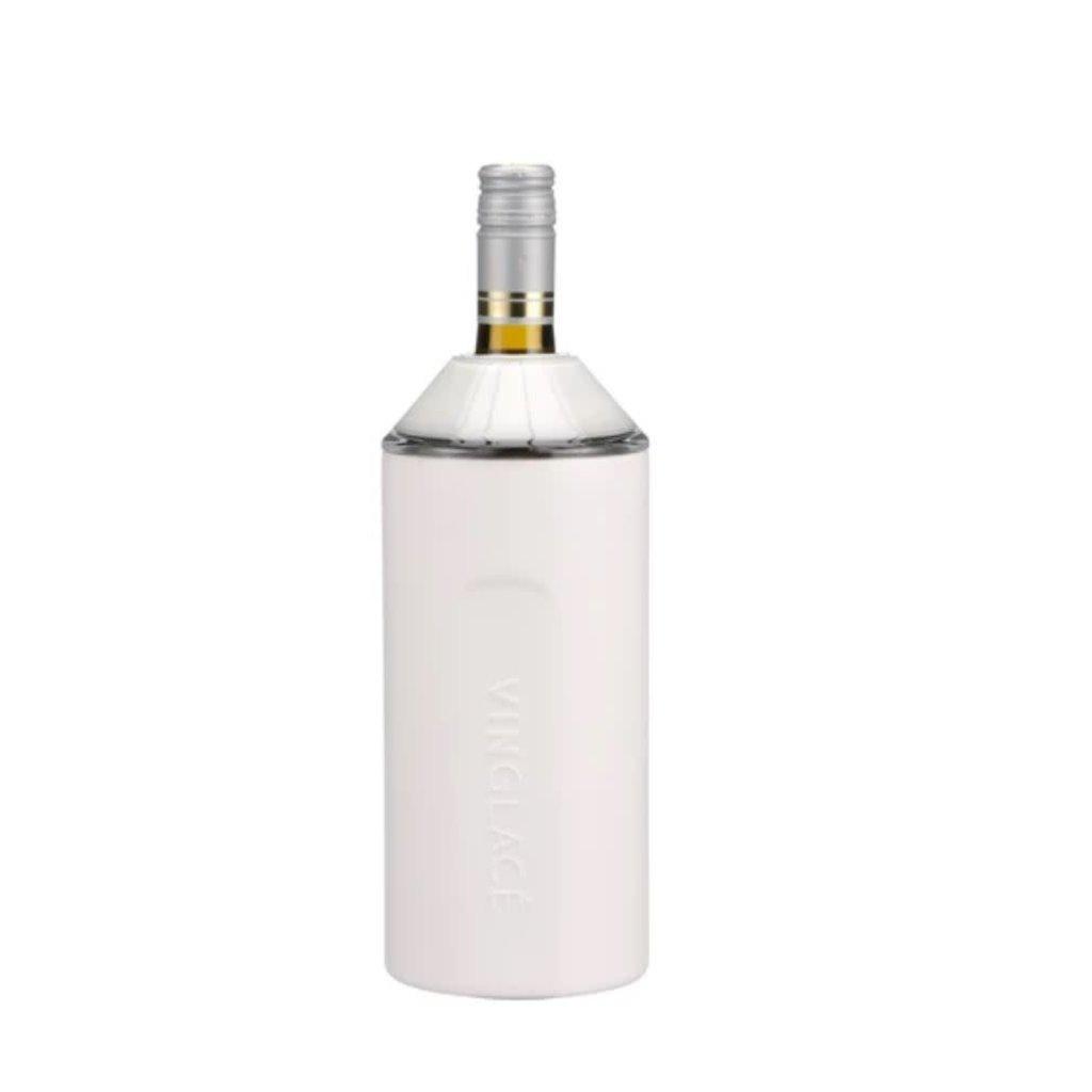 Vinglace Vinglace White Powder Coat Wine Insulator