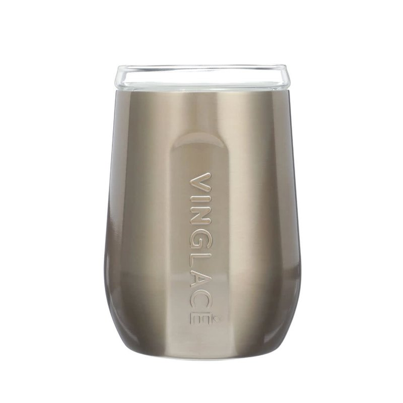 Vinglace Copper Stemless Wine Glass