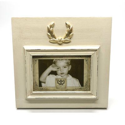 Susan Lange Susan Lange 4x6 Laurel Wreath Gold