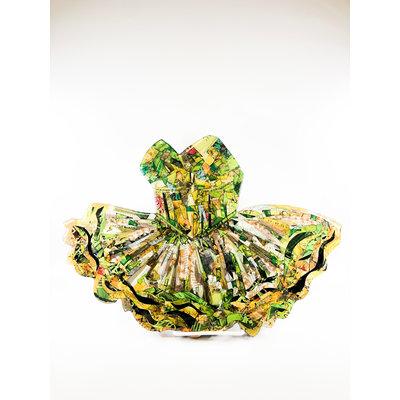 Cynthia Kolls Consignment Cynthia Kolls Green Form Dress Collage