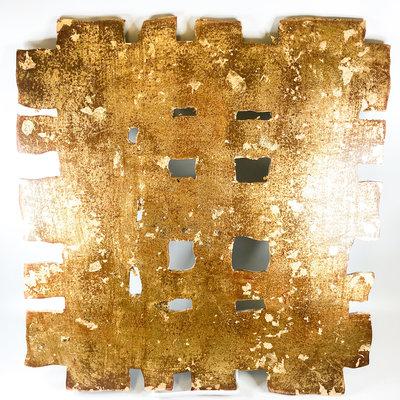 Cynthia Kolls Consignment Cynthia Kolls Small Gold Cut Art