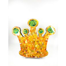 Cynthia Kolls Consignment Cynthia Kolls Small Crown Collage Green