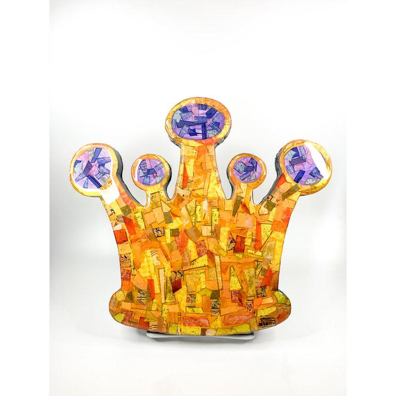 Cynthia Kolls Consignment Cynthia Kolls Small Crown Collage Purple