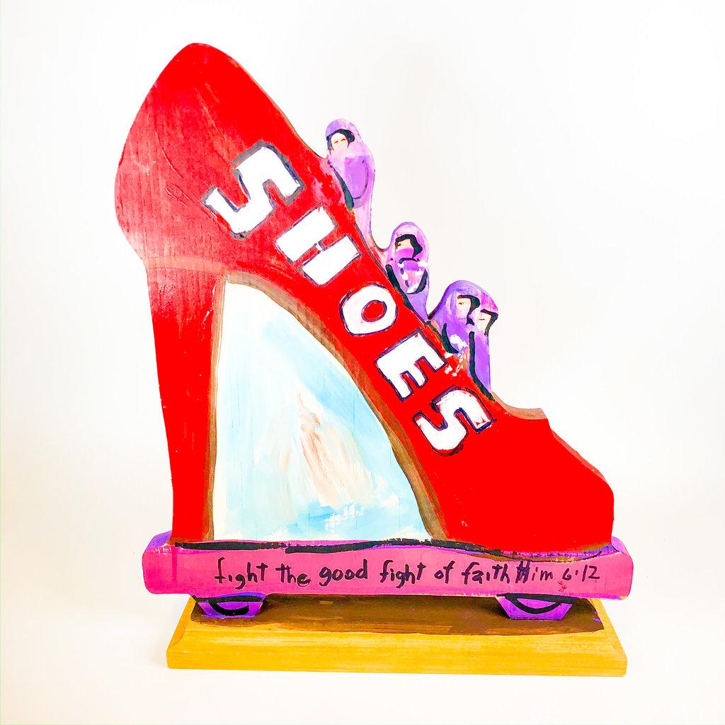 Lorraine Gendron Lorraine Gendron Shoe Float