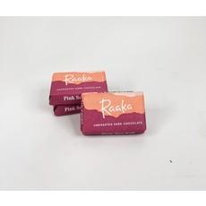 Raaka Chocolate Raaka 71% Pink Sea Salt Mini Chocolate Bars