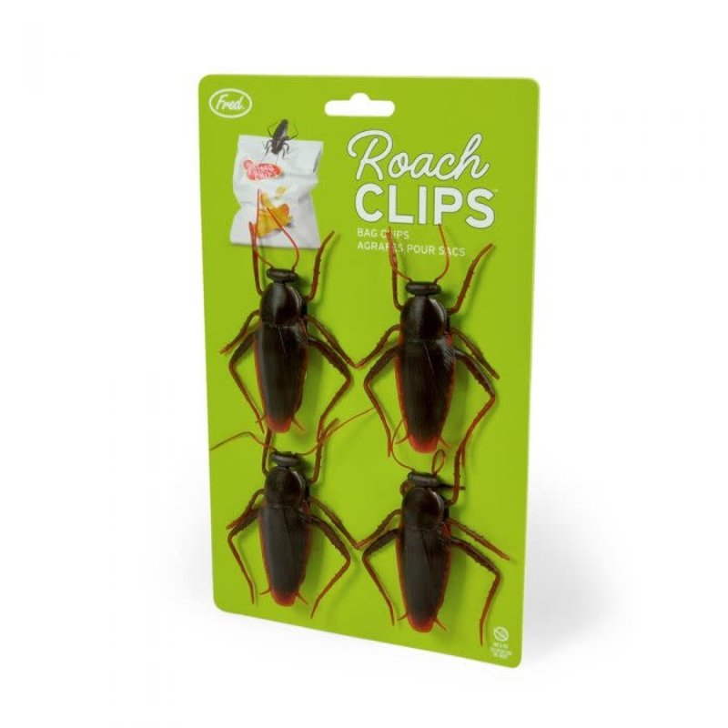 Fred & Friends Fred Roach Clips